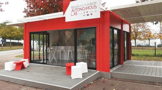 Un showroom semi-permanent pour Transdev à Rouen