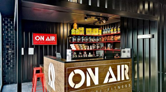ON AIR Melun : du fitness dans un décor industriel