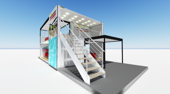 STAND SOLISYSTEM (Projet 3D)