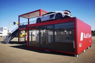 Audi 2019 – Modules KTX pour structure événementielle