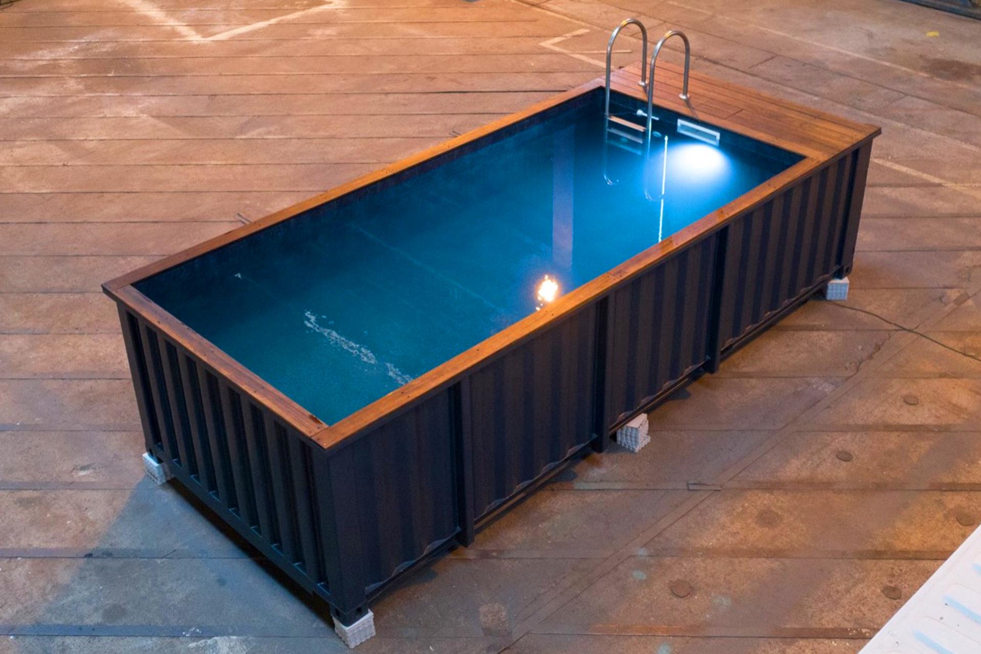 Piscine container : économique, écologique & pratique!